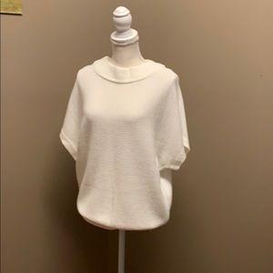 Cream 1/4 Sleeve Sweater